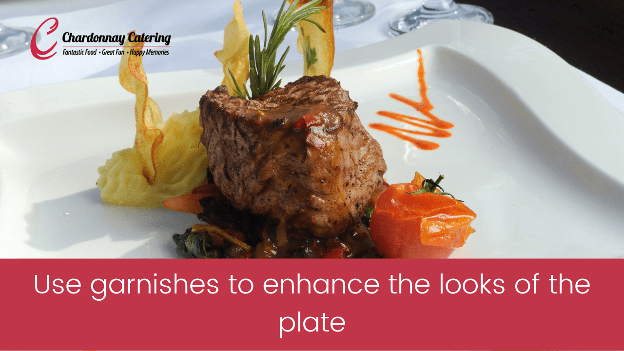 Guide To Food Presentation in Catering Events |